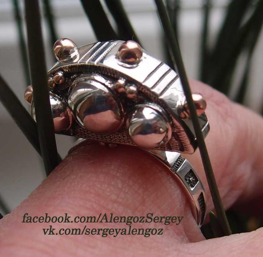 "Sergey Alengoz. Ring ""Crescent"" - photo 2"