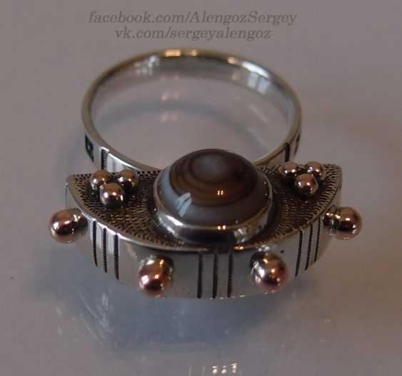 "Sergey Alengoz. Ring ""Crescent"" - photo 3"