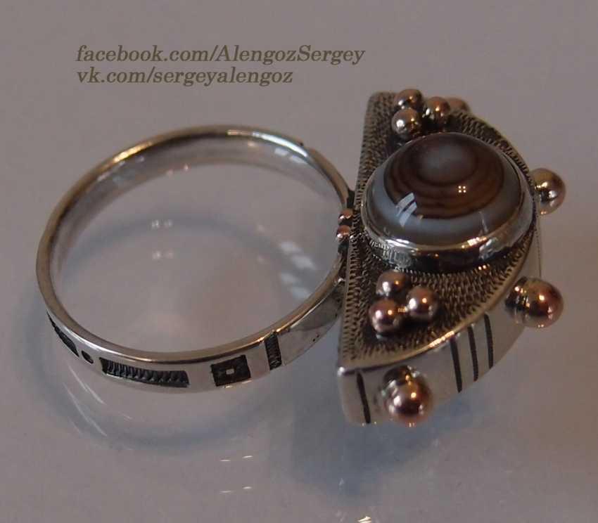 "Sergey Alengoz. Ring ""Crescent"" - photo 4"