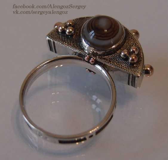 "Sergey Alengoz. Ring ""Crescent"" - photo 5"