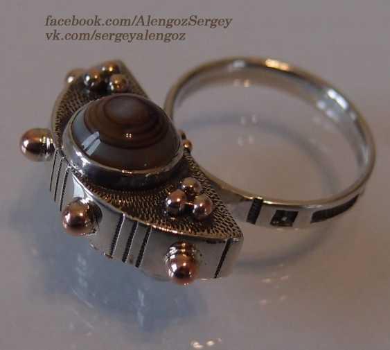 "Sergey Alengoz. Ring ""Crescent"" - photo 6"