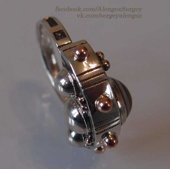 "Sergey Alengoz. Ring ""Crescent"" - photo 7"