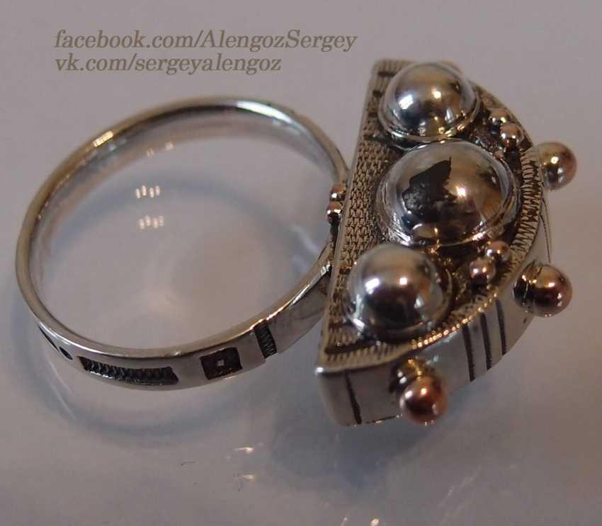 "Sergey Alengoz. Ring ""Crescent"" - photo 8"