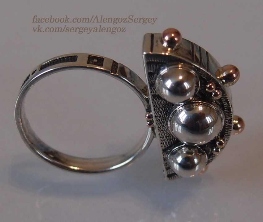 "Sergey Alengoz. Ring ""Crescent"" - photo 10"