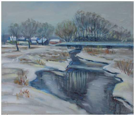 Andrey Lychkovsky. The snow fell. - photo 1