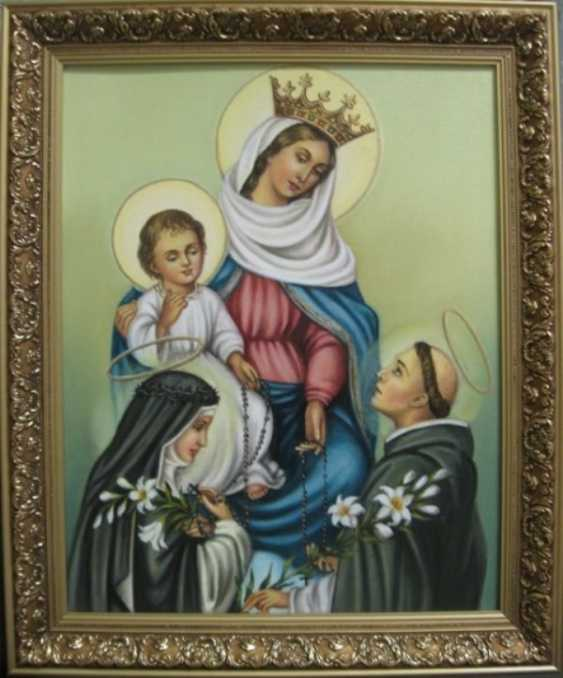 Yadviga Senko. The mother of God of the rosary of Pompeii - photo 1