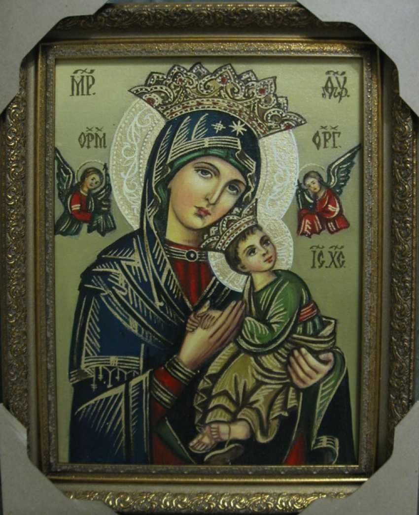Yadviga Senko. The mother of God of perpetual help or Passionate - photo 1