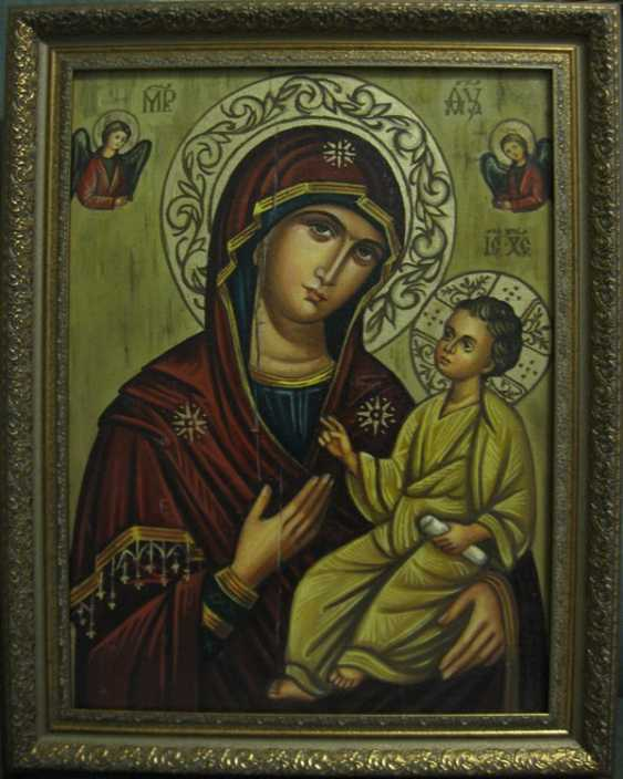 Yadviga Senko. The Mother Of God Of Smolensk (Hodegetria) - photo 1