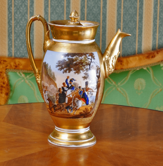 The coffeepot Russia, private factory, 1820's - 1830 g - photo 2