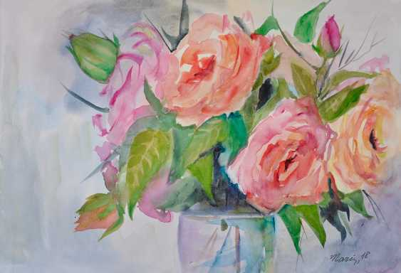 Maryna Pashchenko. Transparent roses. - photo 1