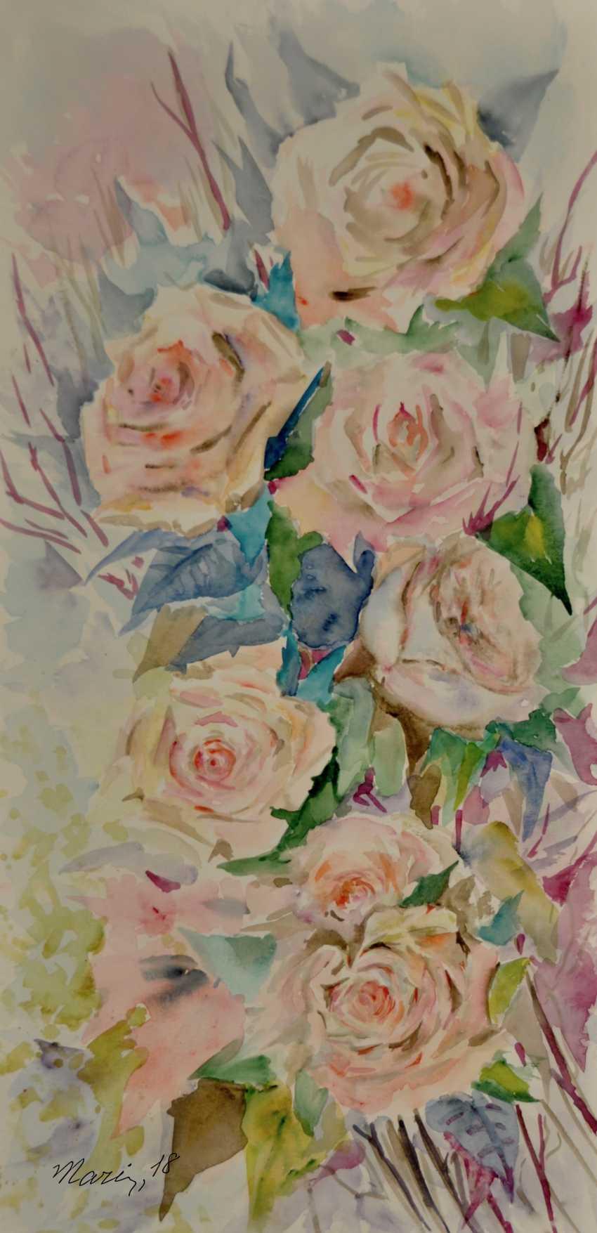 Maryna Pashchenko. Spray roses. - photo 1