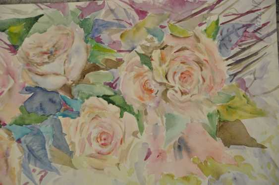 Maryna Pashchenko. Spray roses. - photo 2