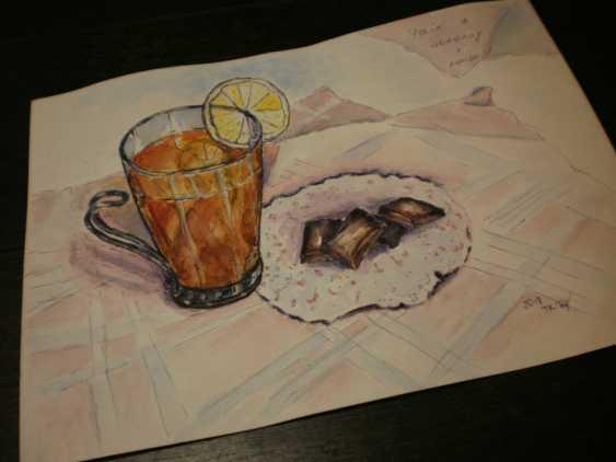 "Tatyana Kazimir. The Sketch ""Tea"" - photo 3"