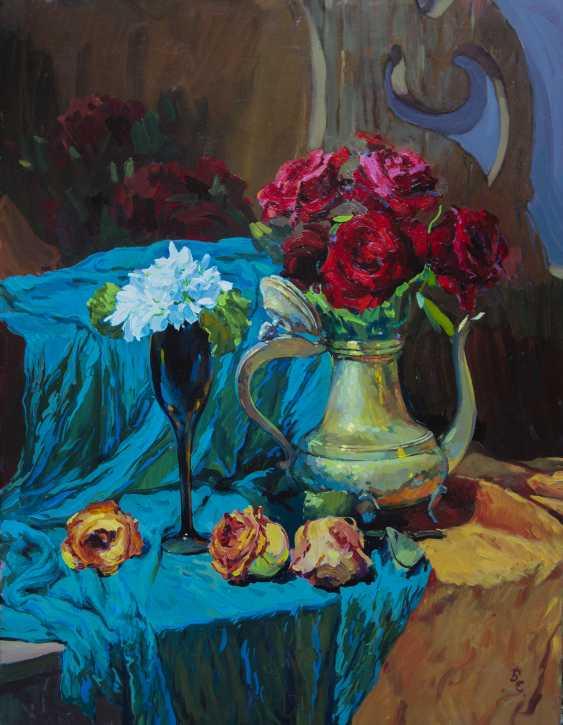 Sviatoslav Barabash. Les roses et les perce-neige - photo 1