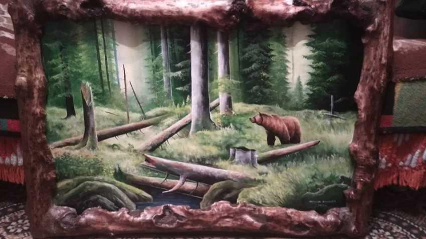 Vasil Niameshchuk. Summer. Brown bear. - photo 1