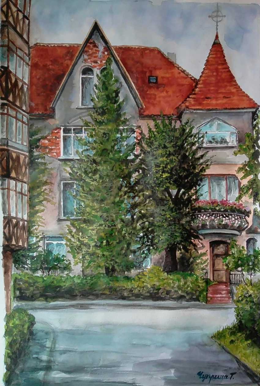 "Tatyana Chuprina. ""The Streets Of Zelenogradsk"". - photo 1"