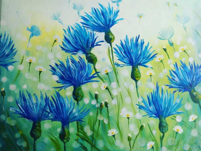 Larisa Parfenyuk. Cornflowers - photo 1