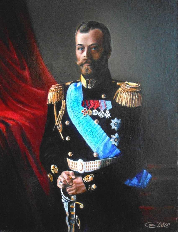 VIKTOR SAVIN. Nicholas II - photo 1