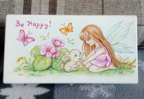 "Irina Nevshupa. The box with the painting ""Fairy"" - photo 1"