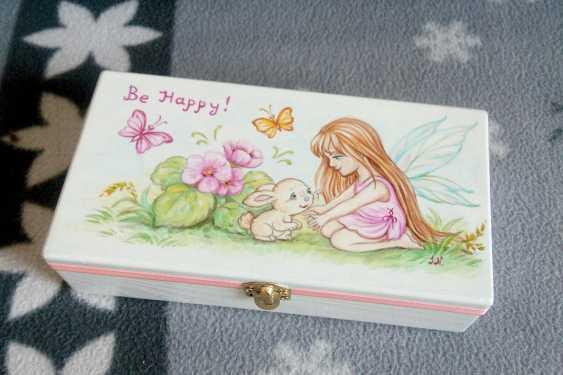 "Irina Nevshupa. The box with the painting ""Fairy"" - photo 2"