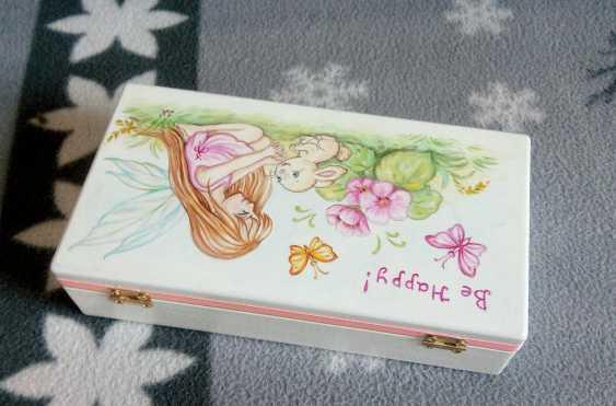 "Irina Nevshupa. The box with the painting ""Fairy"" - photo 3"