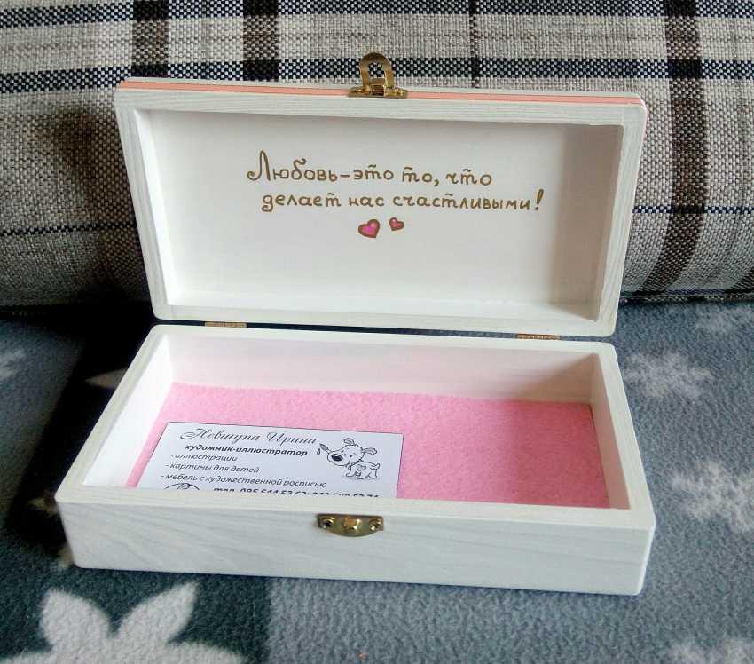 "Irina Nevshupa. The box with the painting ""Fairy"" - photo 4"