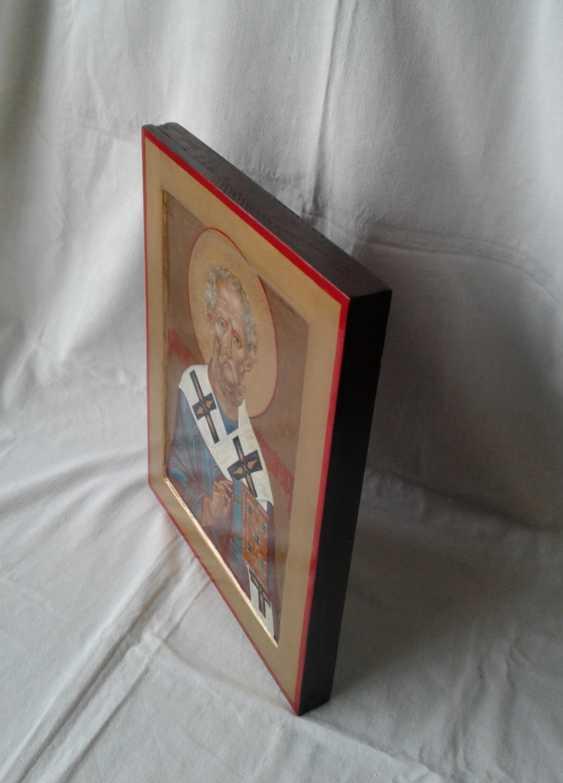 Gennadiy Stepanov. Ikone Heiliger Nikolaj Tschudotworez - Foto 2