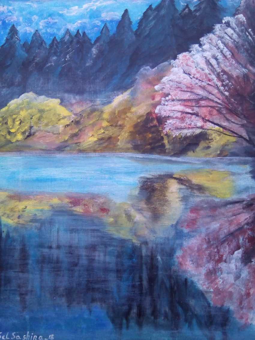 "Elena Podust. ""Morning on the foggy river"" - photo 1"
