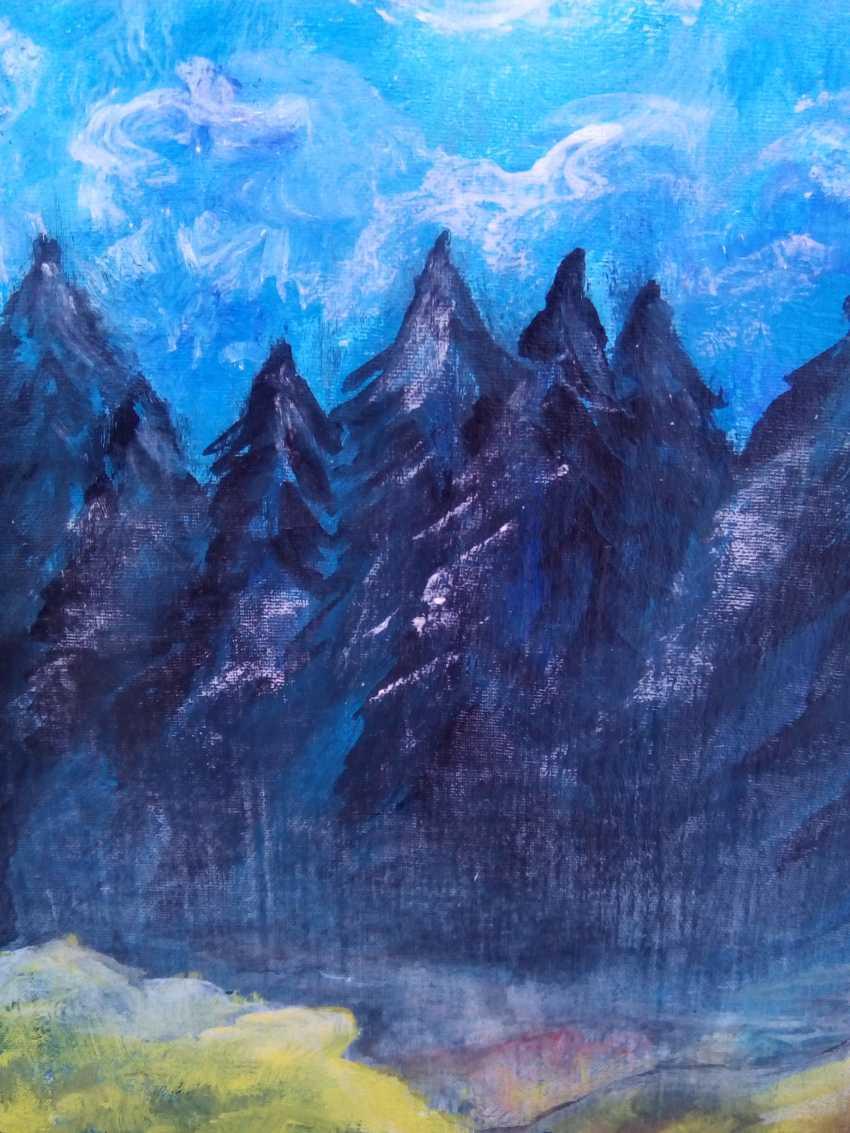 "Elena Podust. ""Morning on the foggy river"" - photo 3"