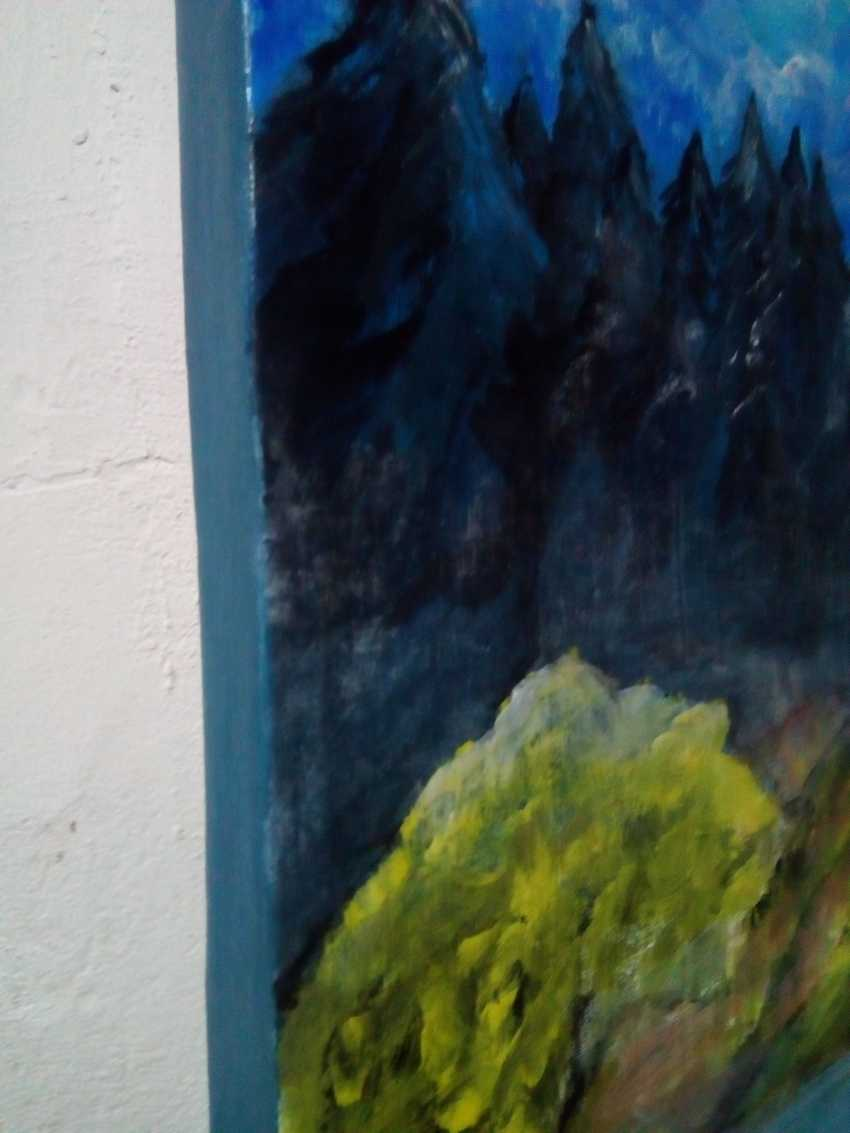 "Elena Podust. ""Morning on the foggy river"" - photo 4"