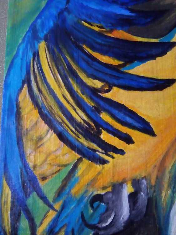 "Elena Podust. ""Tropical parrot"" - photo 3"