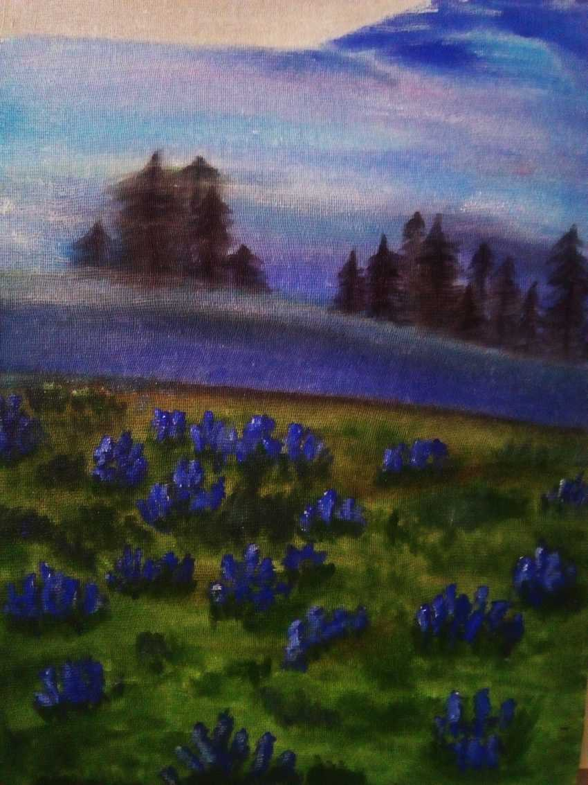 Elena Podust. Flowering meadows - photo 3