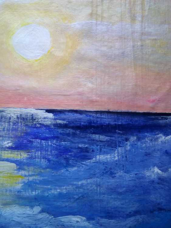 "Elena Podust. ""Purple ocean"" - photo 3"