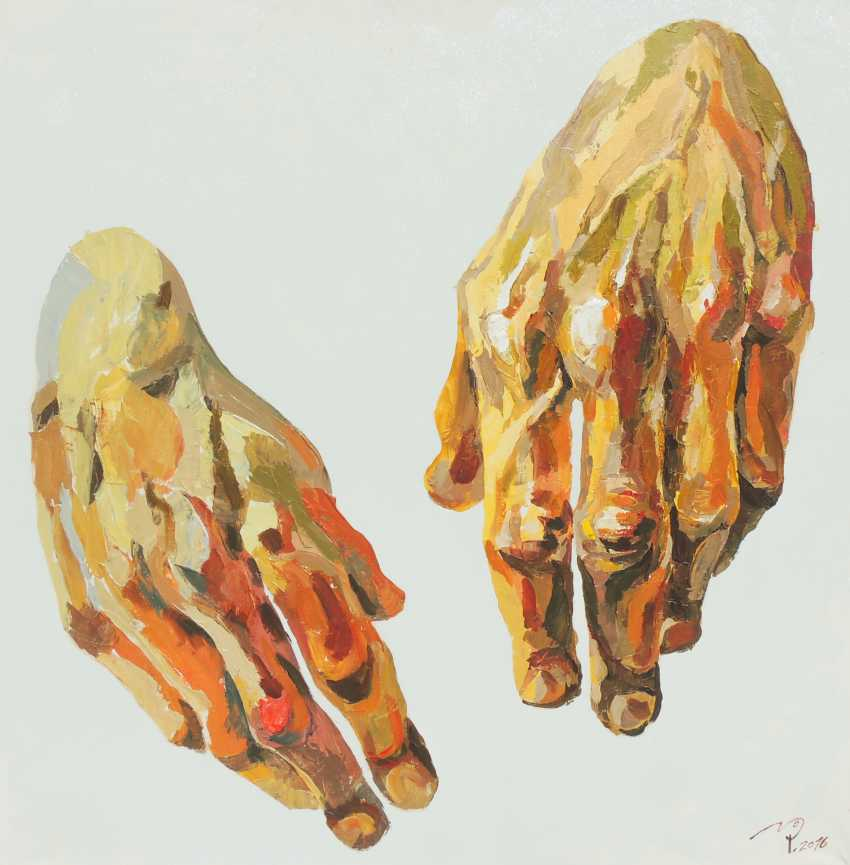 "Aleksandr Putevskoy. ""Hands"" - photo 2"