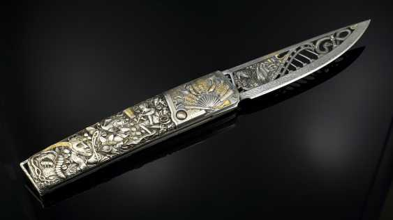 "Andrey Shurinov. The knife folding in box ""the glass bead Game, Das Glasperlenspiel"". - photo 2"