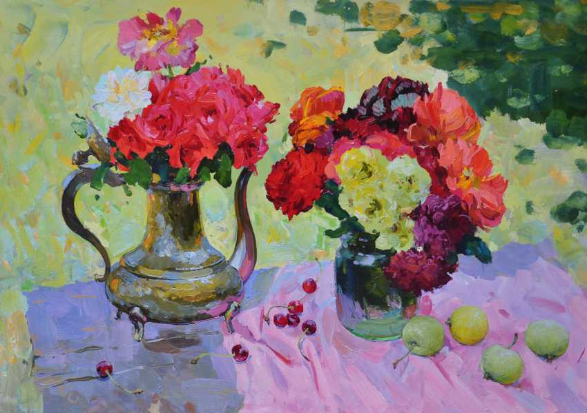 Sviatoslav Barabash. Still life with roses. - photo 1