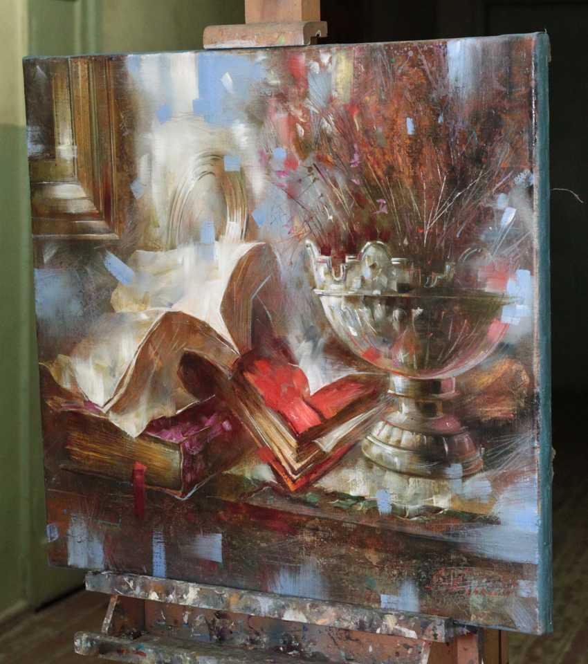 alexandr Dobrodiy. Still life with red book - photo 2