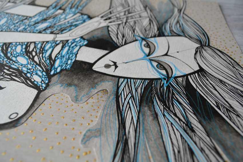 Lidia Matviyenko. Water Nymph / Water Nymph - photo 3
