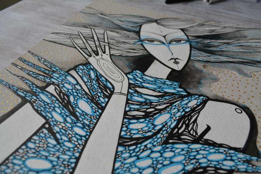 Lidia Matviyenko. Water Nymph / Water Nymph - photo 4