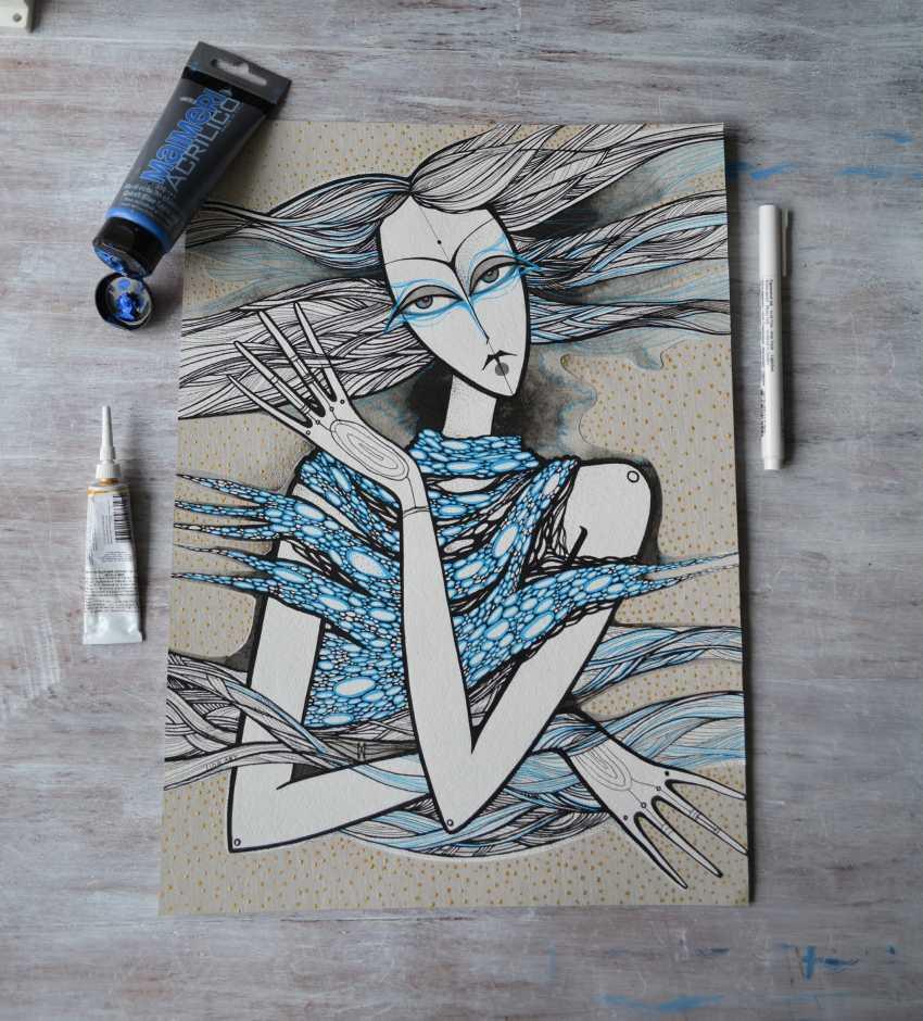 Lidia Matviyenko. Water Nymph / Water Nymph - photo 6