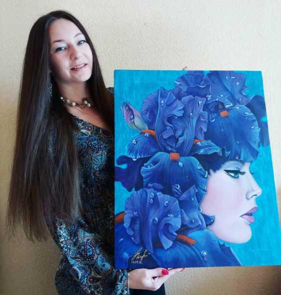 Olena Lytvynenko. Iris. - photo 2
