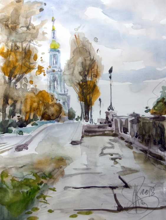 Aleksey Tochin. Hooks. Sketch watercolor - photo 1
