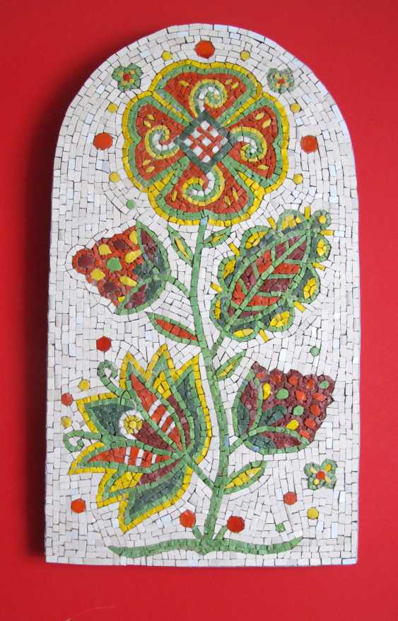 Alina Mezybovskaya. Mosaic, the Tree of life ,, - photo 1