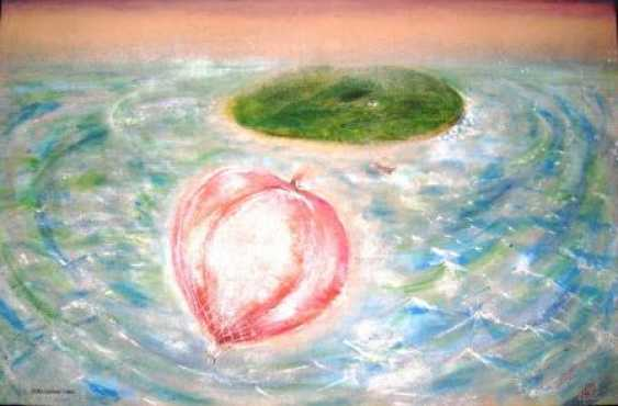 "Oleg Badakhov. ""The island and the balloon"" - photo 1"