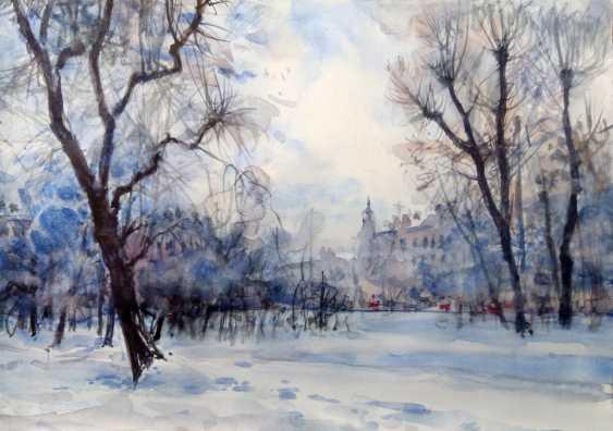 Aleksey Tochin. Sketch watercolor - photo 1