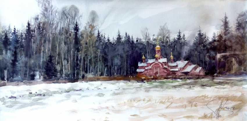 Aleksey Tochin. Snow in Agalatovo - photo 1