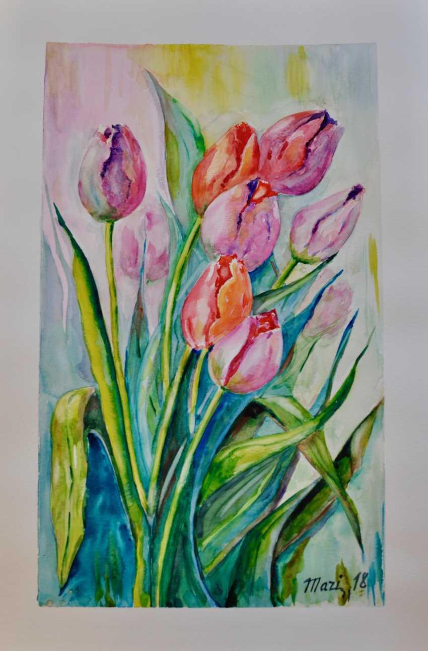 Maryna Pashchenko. Tulips. - photo 1