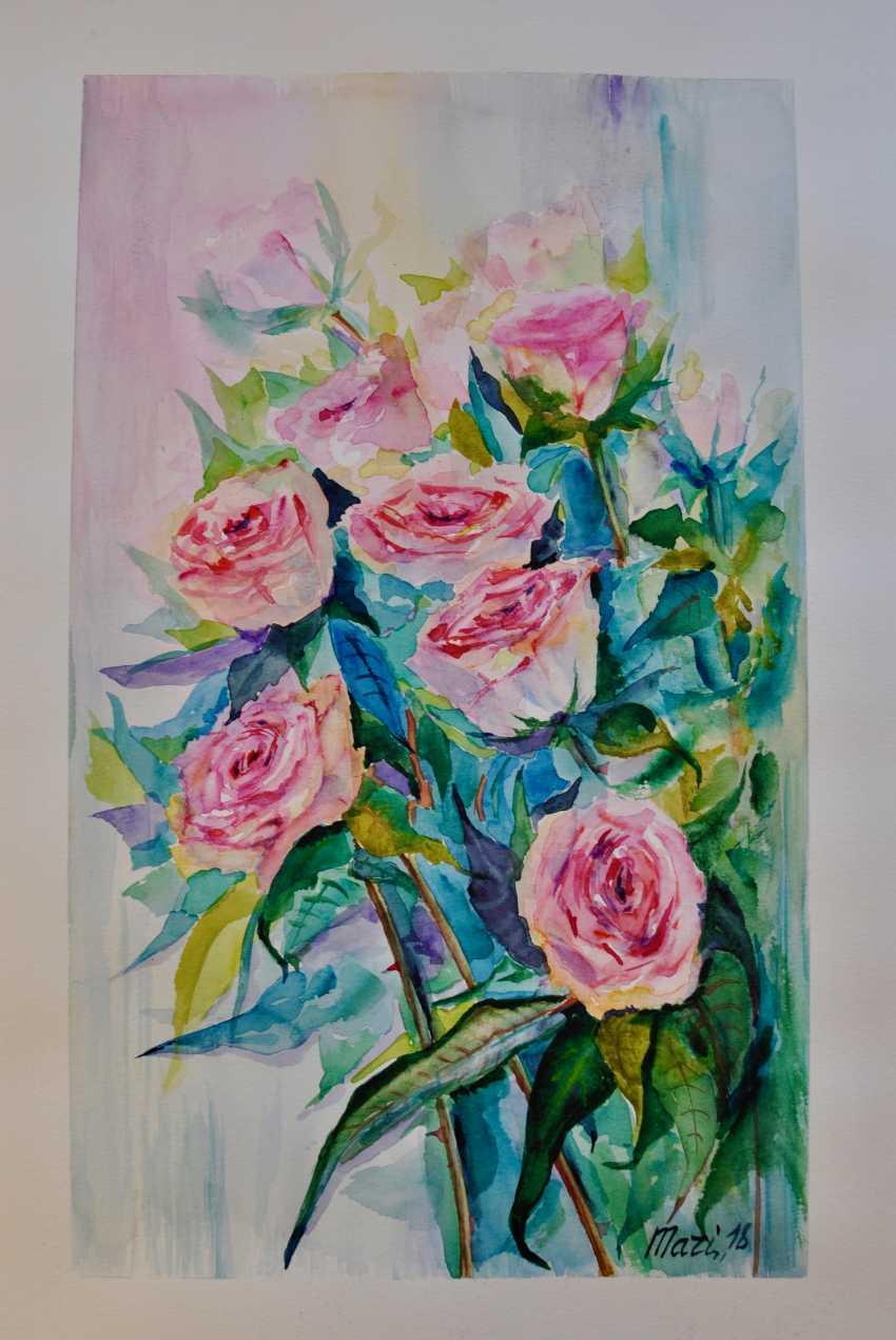 Maryna Pashchenko. Roses. - photo 1