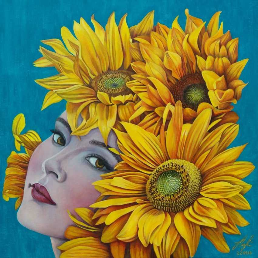 Olena Lytvynenko. Sunflower. - photo 1