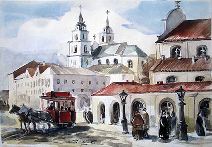 vladimir sharkov. Old town - photo 1